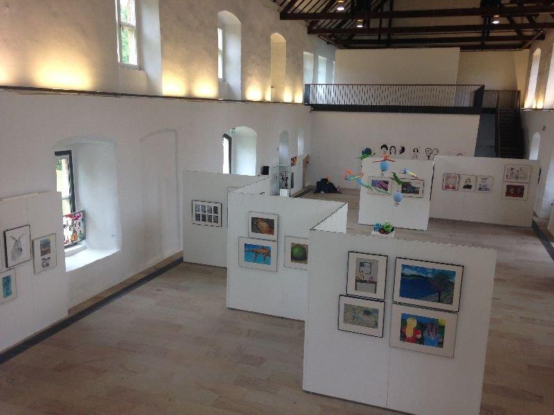 Die Ausstellungshalle im Kloster Gravenhorst