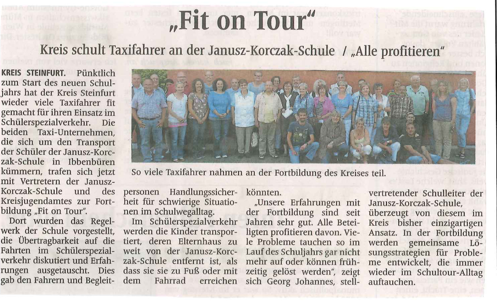 Fit on Tour 2012